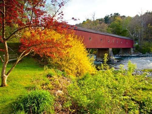 West Cornwell Covered Bridge