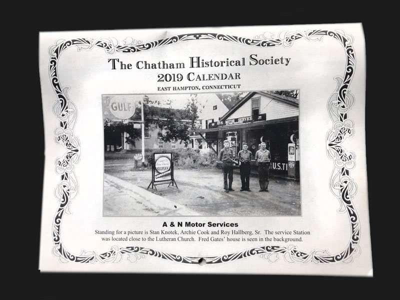 Chatham Historical Society 2019 Calendar