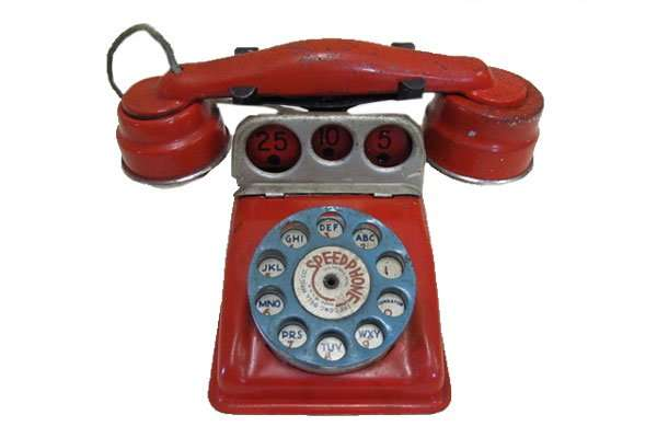 Gong Bell Toy Phone