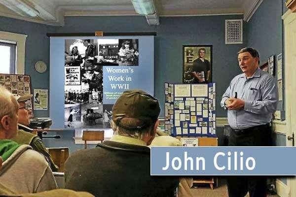 John Cilio Cabin Fever History Series