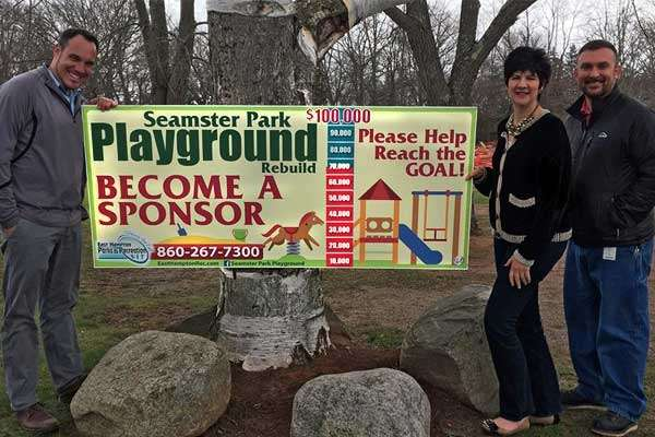 Seamster Park Playground Fundrasier
