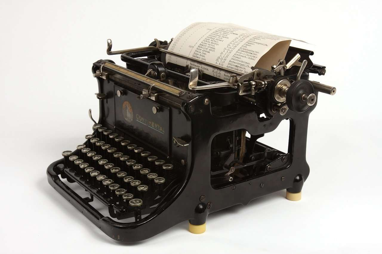 Blogging Typewriter